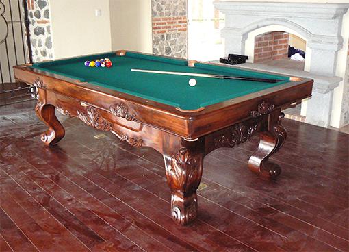 Una mesa de pool llena de accesorios taringa for Accesorios de mesa de billar